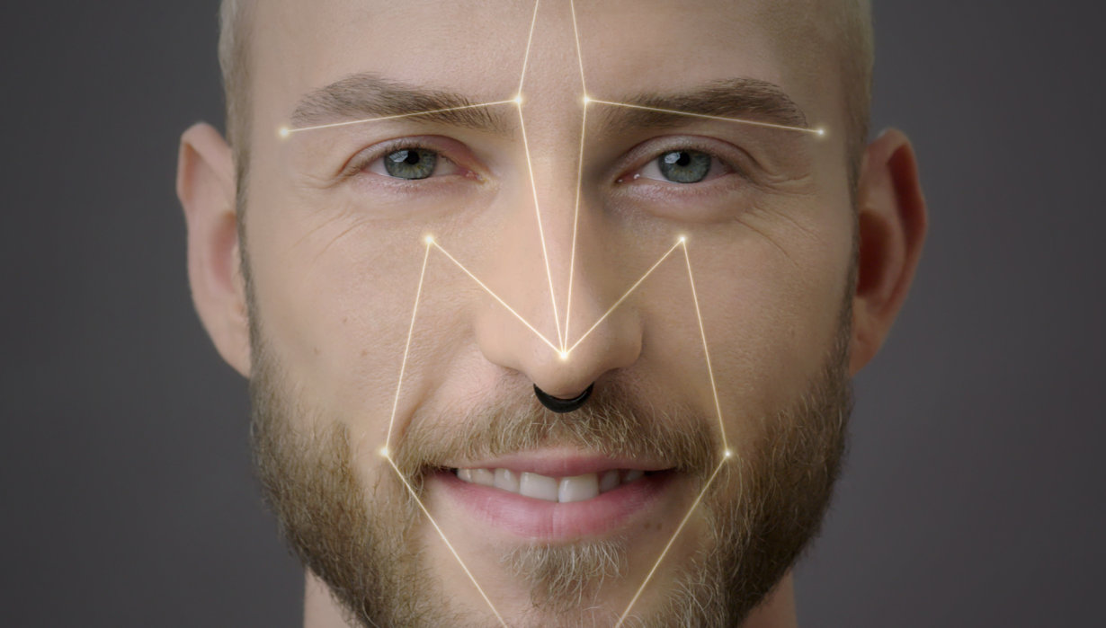 Face recognition - iris scan