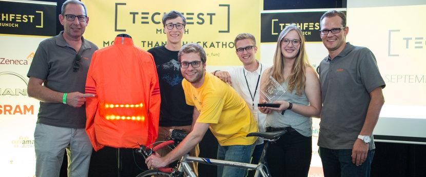 2016慕尼黑TECHFEST中的欧司朗织物照明