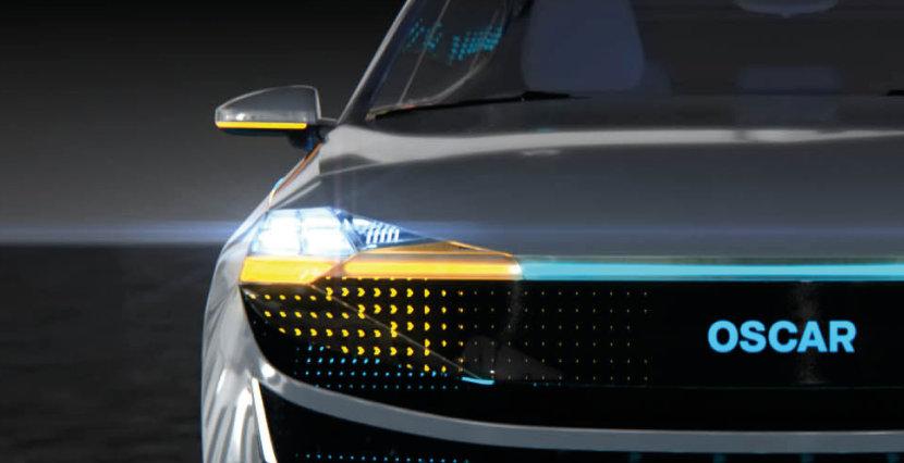 光线自适应:OSLON® Black Flat S - 第一款用于自适应光束调整的可独立寻址 SMT 多芯片 LED