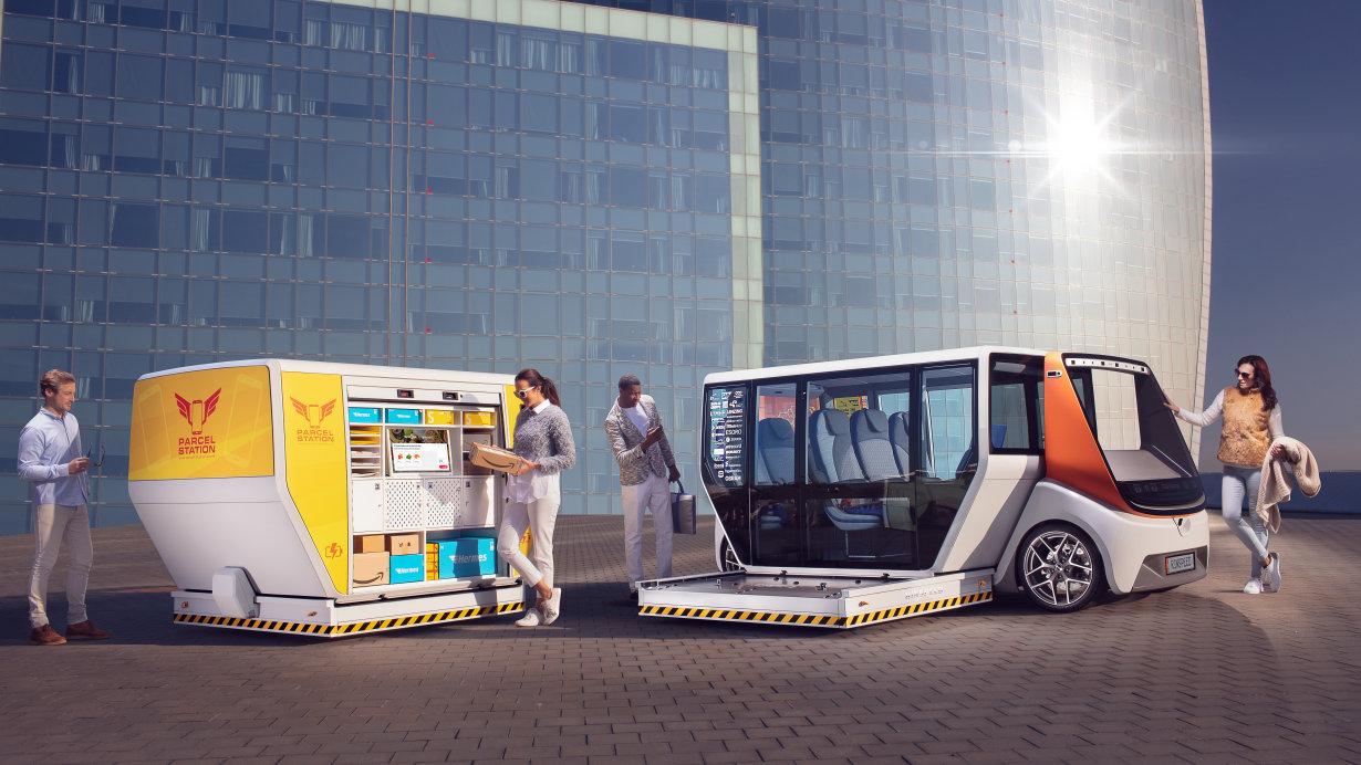 Rinspeed MetroSnap概念车配备了欧司朗的可见光与不可见光产品,将会在CES首次面世。