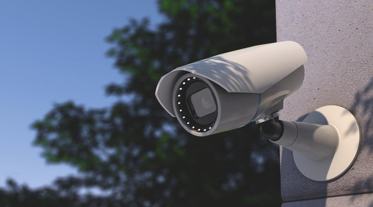 Surveillance (CCTV):- Security camera - Building