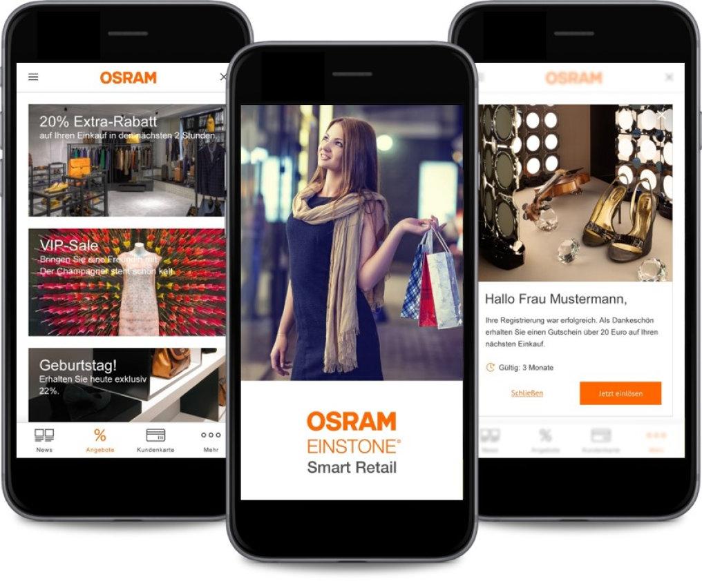 EINSTONE Smart Retail and BEACON technology