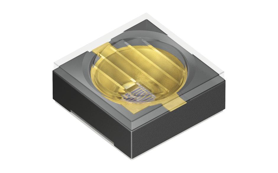 欧司朗光电半导体 SFH 4787S 红外 LED 发射平面光,简化了访问控制应用中对独一无二的虹膜识别。