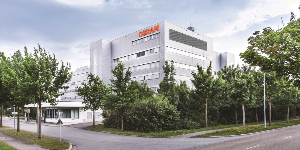 OSRAM Opto Semiconductors Headquarter in Regensburg
