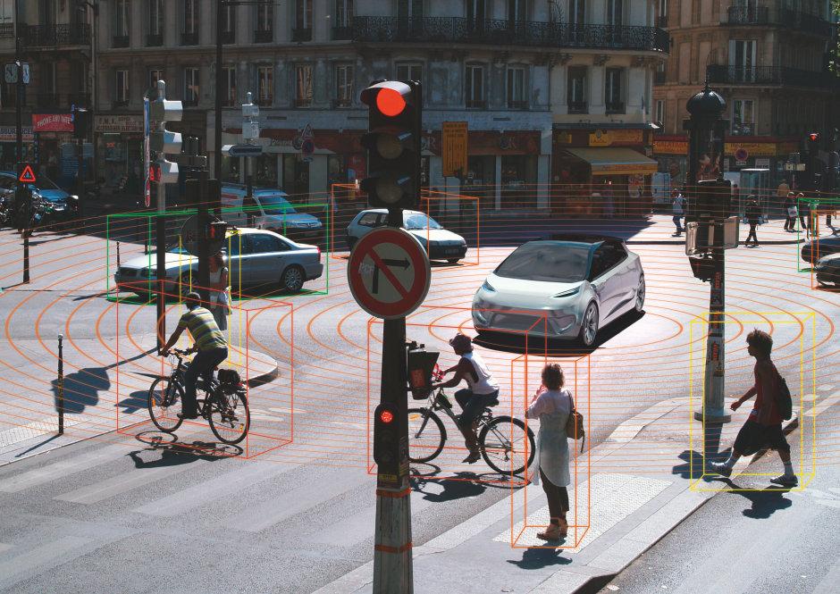 LiDAR 系统使用激光脉冲的传输时间来计算车辆与人或物体之间的距离。