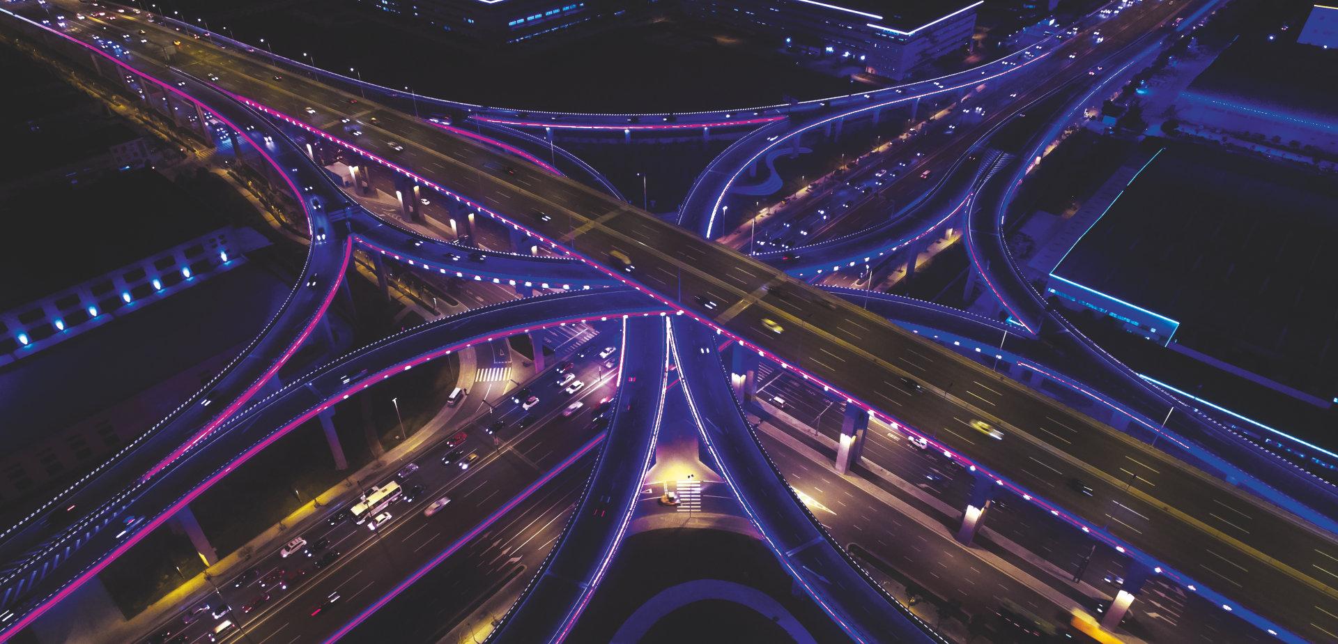 适合智慧城市和公共空间的灯光