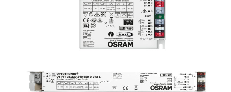LED驱动电源及ECG电子镇流器