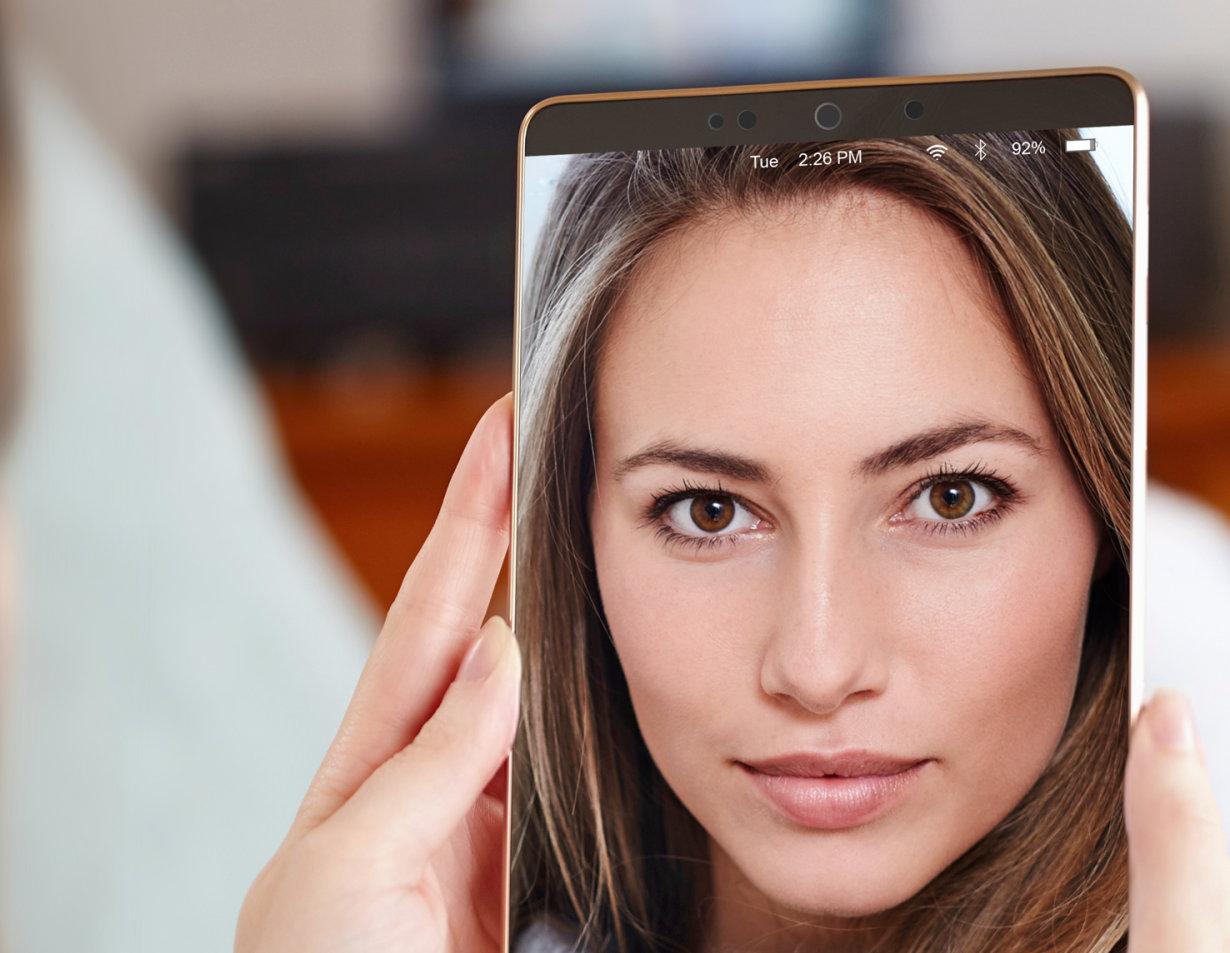例如,PLPVQ 940A 可用作移动设备面部识别的光源,均匀照明整个面部。